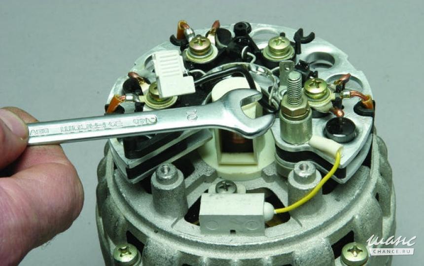Фото №12 - как собрать генератор ВАЗ 2110