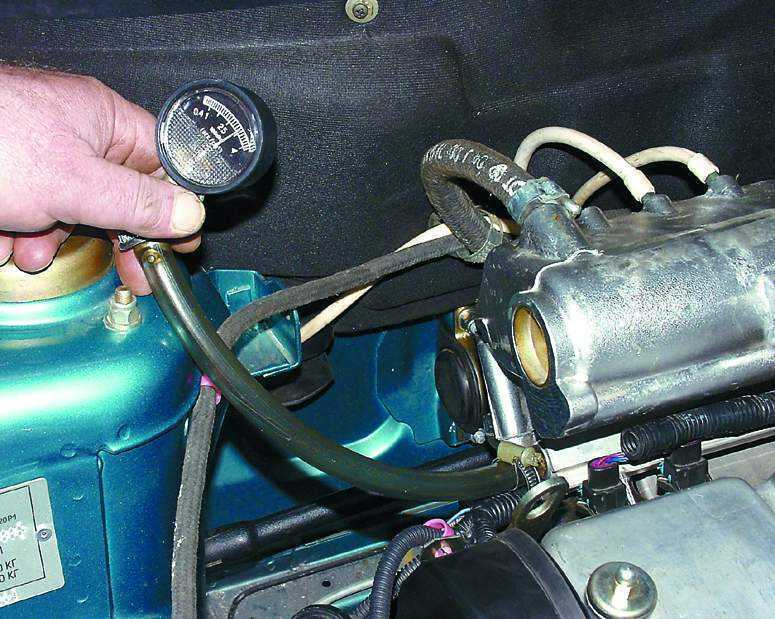 Фото №20 - ВАЗ 2110 неисправность регулятора давления топлива