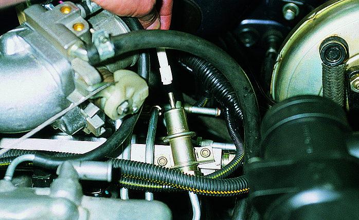 Фото №3 - признаки неисправности регулятор давления топлива ВАЗ 2110