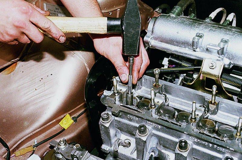 Фото №6 - как протянуть головку блока ВАЗ 2110 8 клапанов