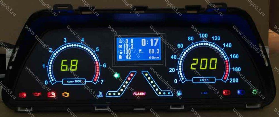 Фото №10 - электронная панель приборов на ВАЗ 2110