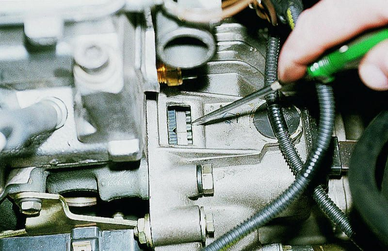 Фото №6 - выставить зажигание ВАЗ 2110 карбюратор