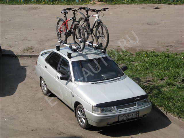 Фото №11 - багажник на ВАЗ 2110 на крышу