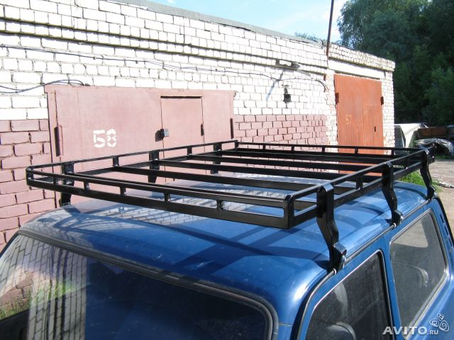 Фото №11 - багажник на крышу ВАЗ 2110 своими руками