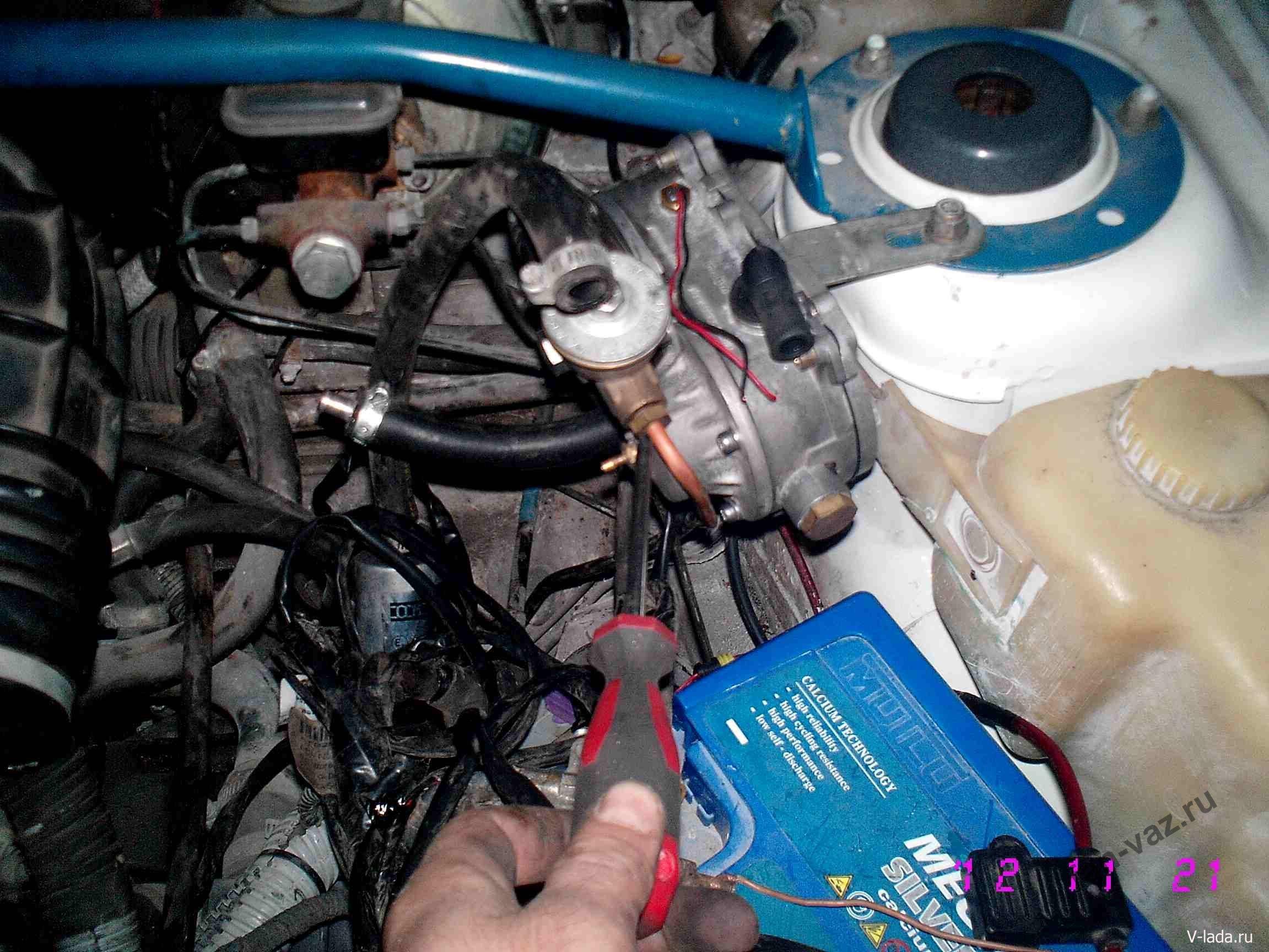 Фото №5 - установка гбо на ВАЗ 2110 своими руками