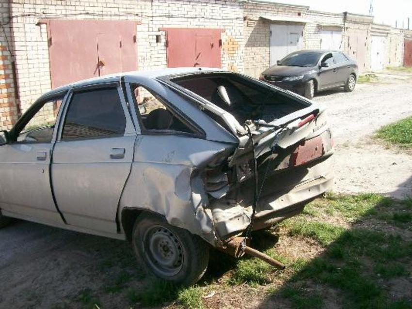 Фото №12 - ВАЗ 2110 ремонт кузова своими руками