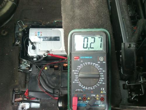 Фото №16 - утечка тока в автомобиле ВАЗ 2110