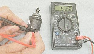 Фото №10 - как проверить мультиметром рхх ВАЗ 2110