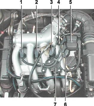 Фото №6 - расположение цилиндров в двигателе ВАЗ 2110