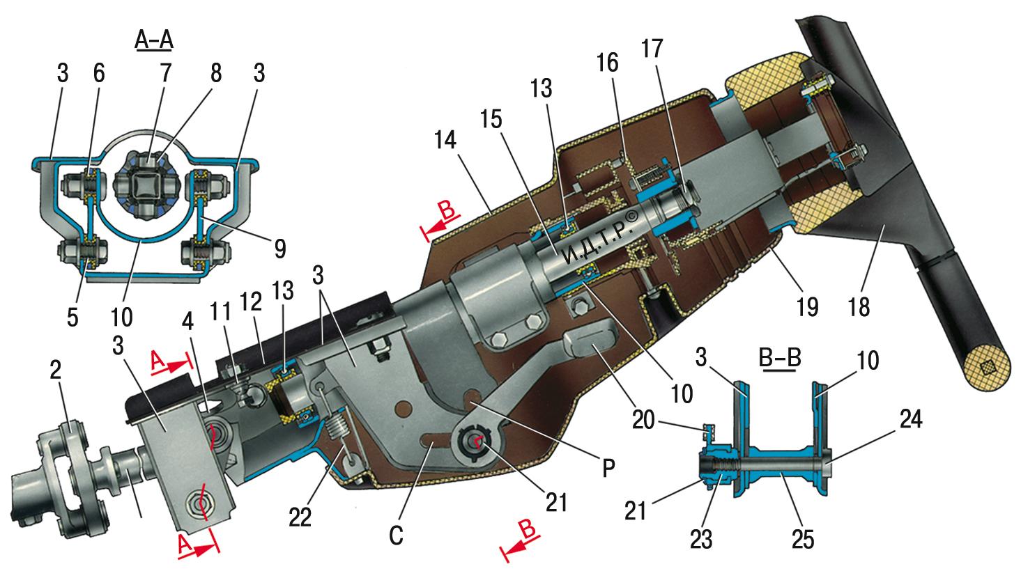Фото №8 - устройство рулевой рейки ВАЗ 2110