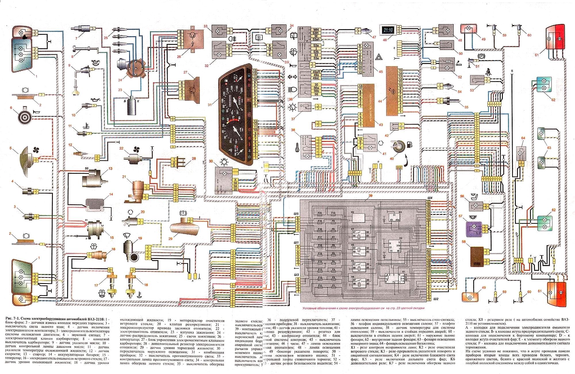 Фото №11 - неисправности электрооборудования ВАЗ 2110 инжектор