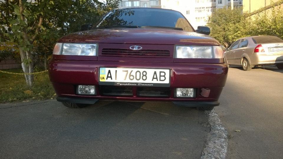 Фото №5 - губа на бампер ВАЗ 2110