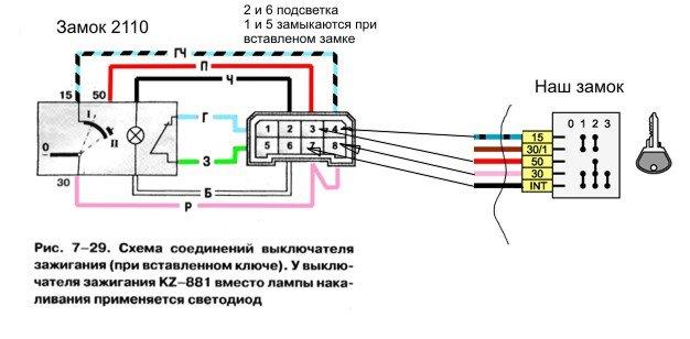 Фото №22 - схема подключения катушки зажигания ВАЗ 2110 инжектор