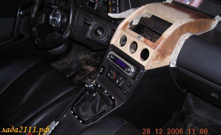 Фото №26 - тюнинг панели ВАЗ 2110 своими руками