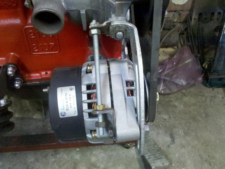 Фото №15 - генератор от ВАЗ 2110 на ВАЗ 2107