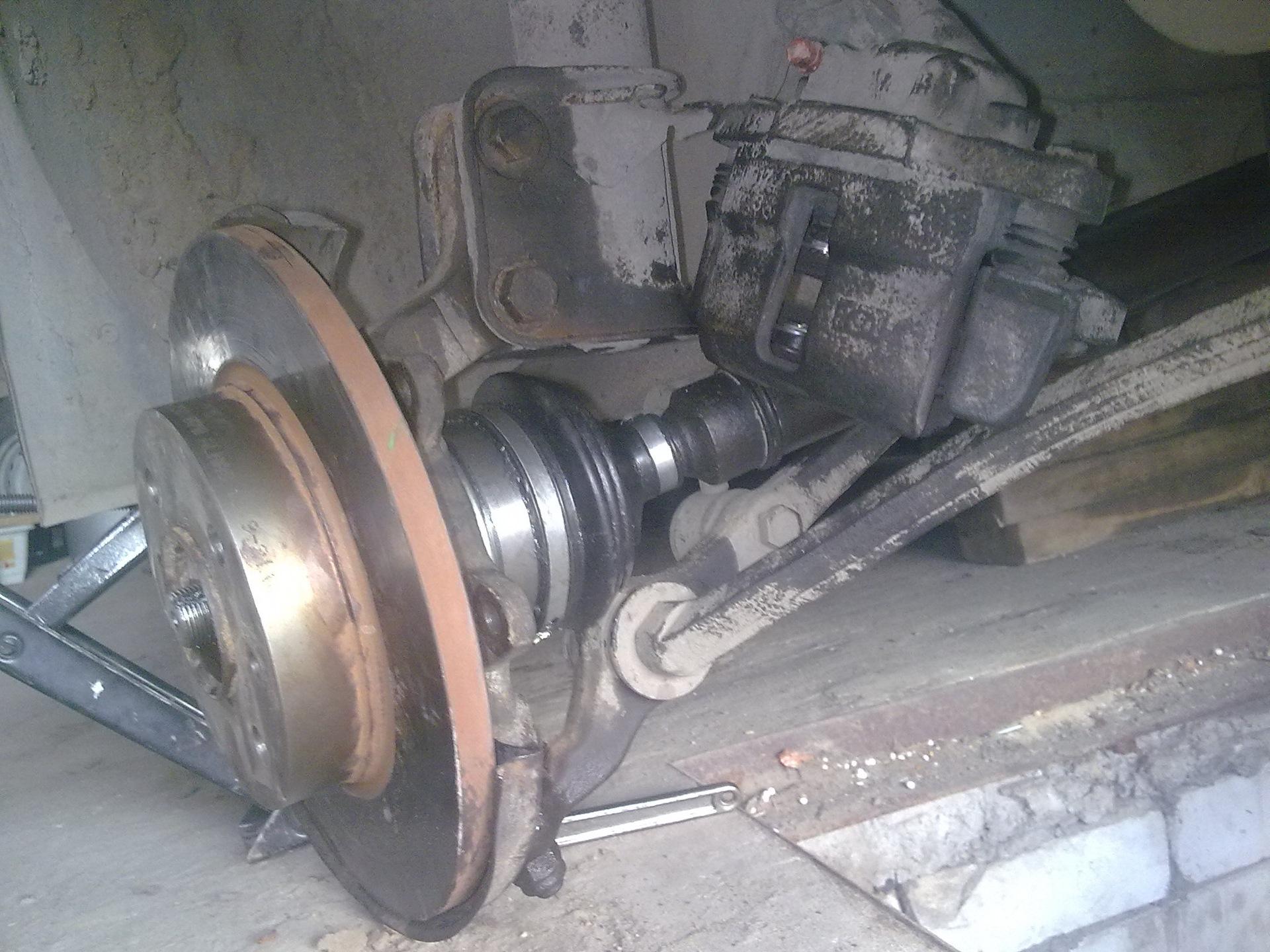 Фото №4 - замена наружной гранаты ВАЗ 2110