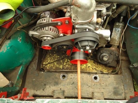 Фото №12 - доработка генератора ВАЗ 2110 установка диода