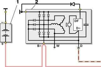 Фото №1 - как повысить напряжение генератора ВАЗ 2110