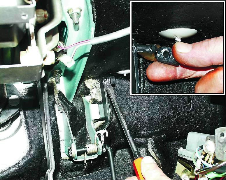 Фото №3 - замена тросика газа на ВАЗ 2110