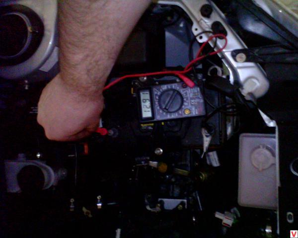 Фото №13 - недозаряд аккумулятора ВАЗ 2110