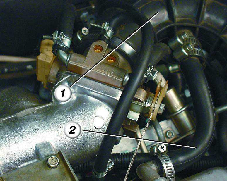 Фото №12 - дроссельная заслонка на ВАЗ 2110 16 клапанов
