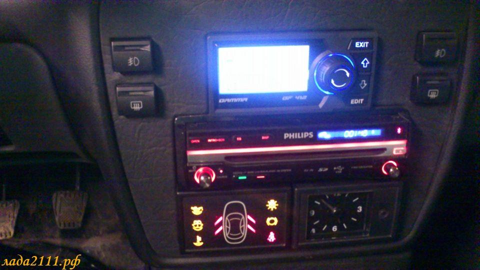 Фото №1 - панель управления ВАЗ 2110