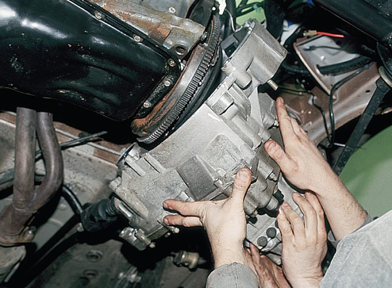 Фото №28 - ВАЗ 2110 ремонт коробки