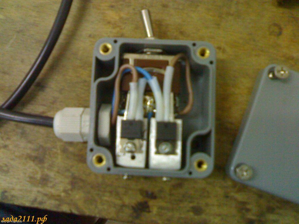 Фото №22 - 3 уровневый регулятор напряжения ВАЗ 2110