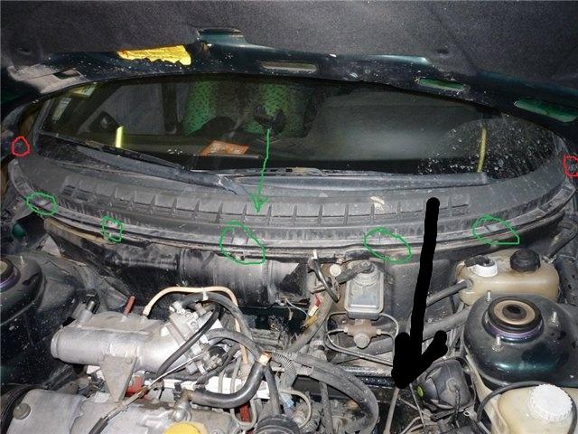 Фото №6 - замена радиатора печки на ВАЗ 2110