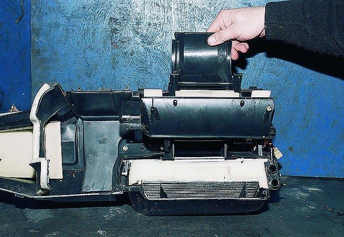 Фото №17 - замена радиатора печки на ВАЗ 2110