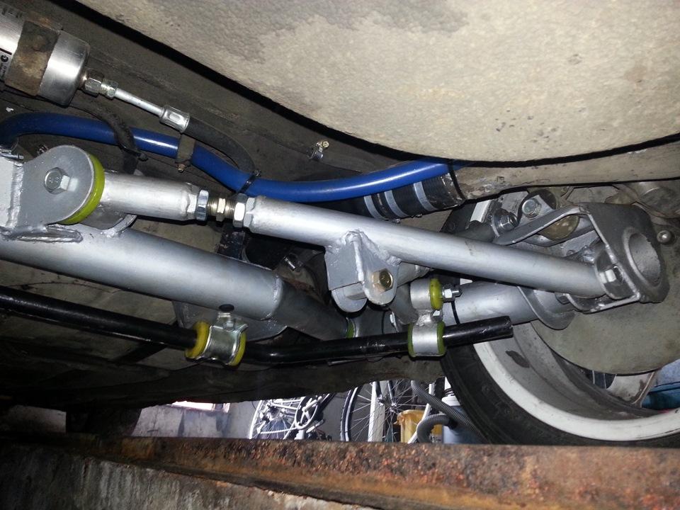 Фото №24 - независимая задняя подвеска ВАЗ 2110