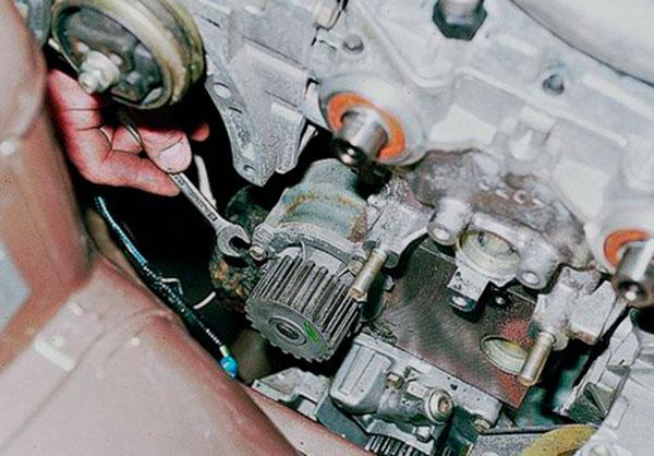 Фото №22 - ремонт помпы ВАЗ 2110