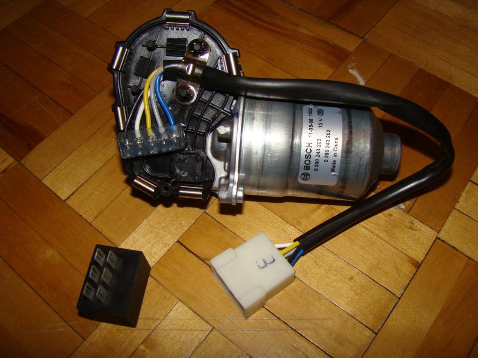 Фото №11 - моторчик дворников ВАЗ 2110