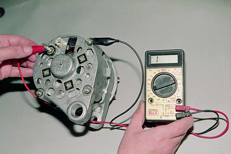 Фото №13 - как проверить напряжение на генераторе ВАЗ 2110