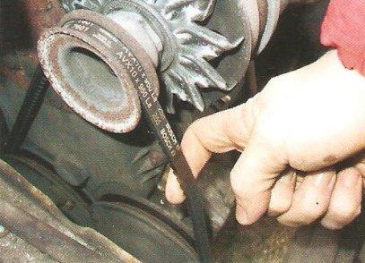 Фото №34 - свистит ремень генератора ВАЗ 2110
