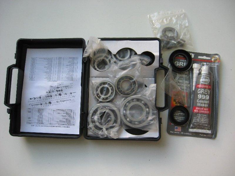 Фото №5 - подшипники коробки передач ВАЗ 2110