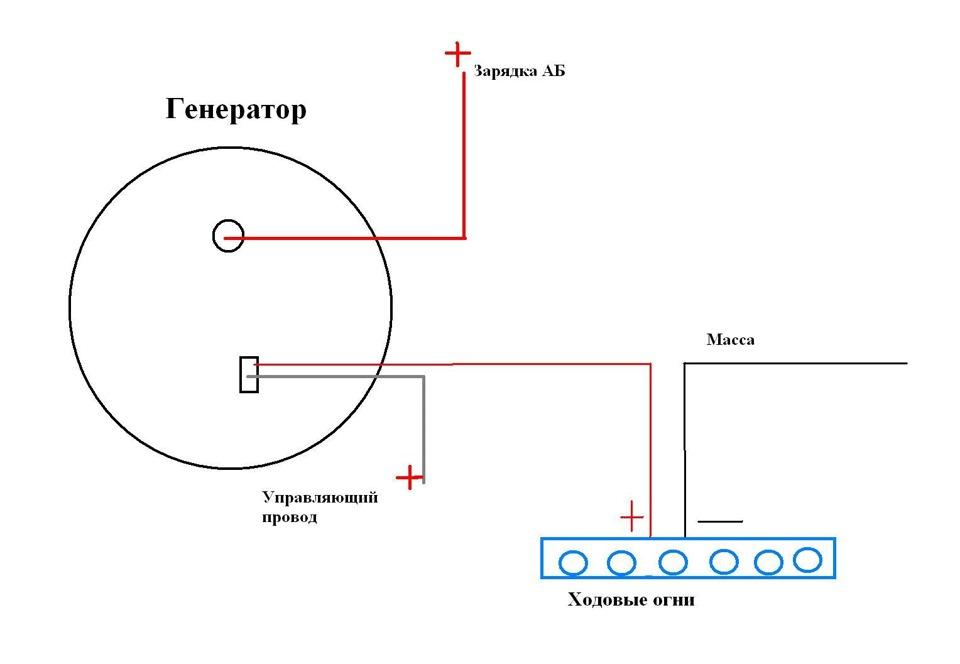 Фото №39 - схема подключения дхо на ВАЗ 2110