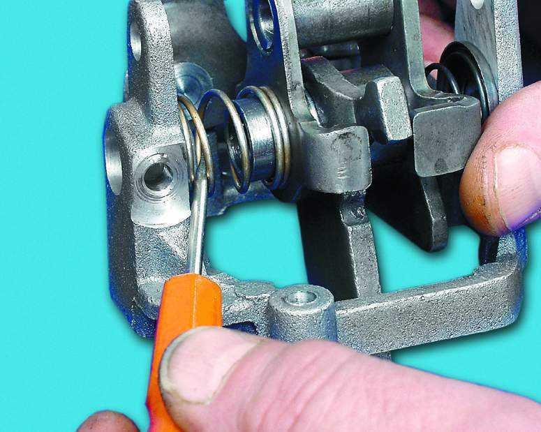 Фото №5 - механизм выбора передач ВАЗ 2110