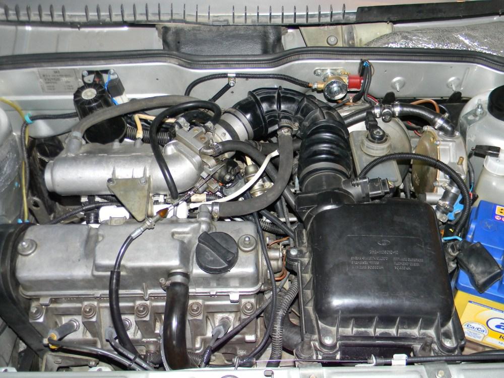 Фото №1 - инжекторный двигатель на ВАЗ 2110