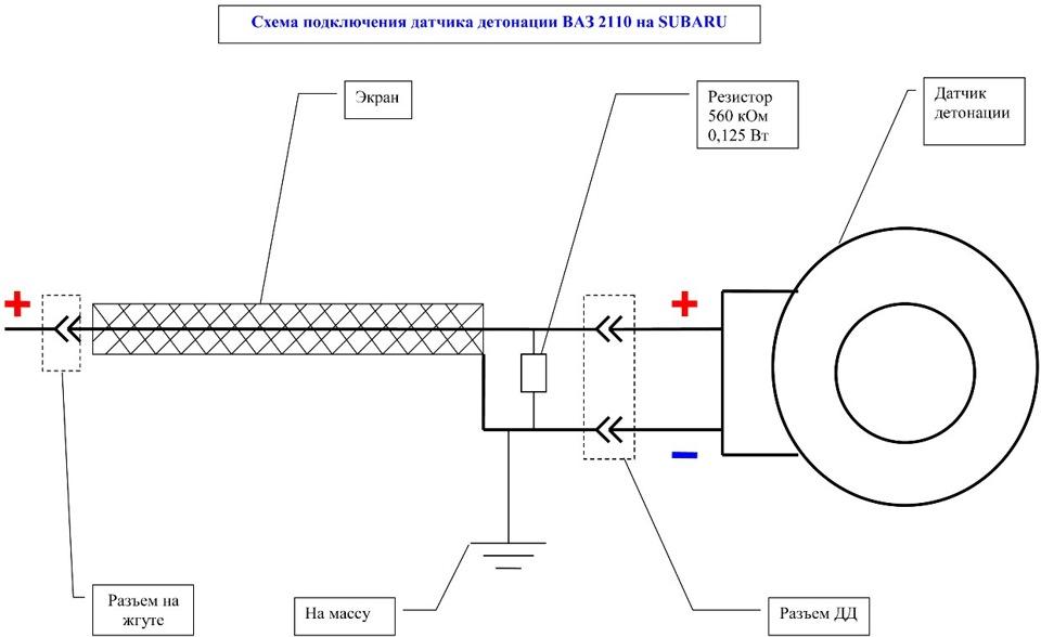 Фото №34 - ВАЗ 2110 замена датчика детонации