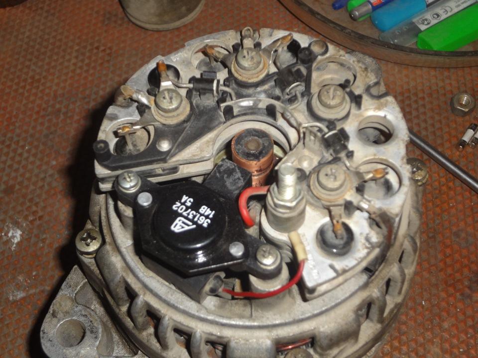 Фото №15 - замена контактных колец на генераторе ВАЗ 2110