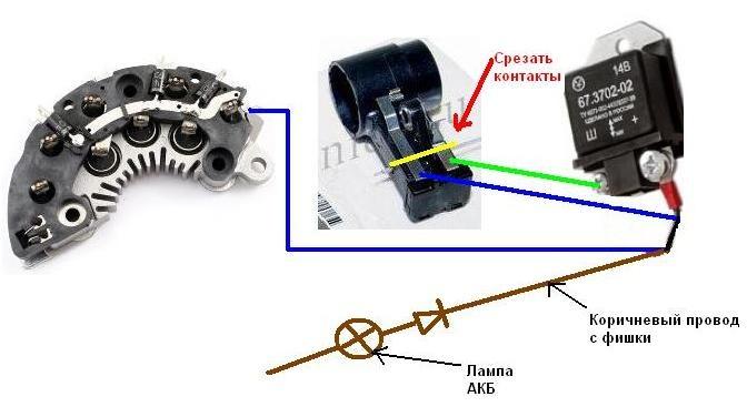 Фото №7 - как проверить реле регулятор генератора ВАЗ 2110