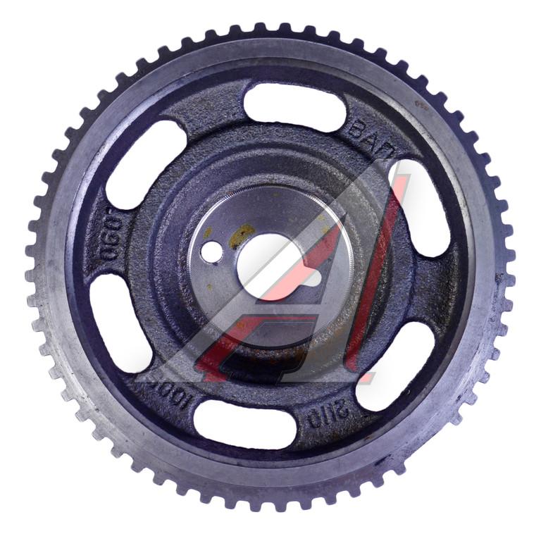 Фото №24 - как снять шкив коленвала ВАЗ 2110