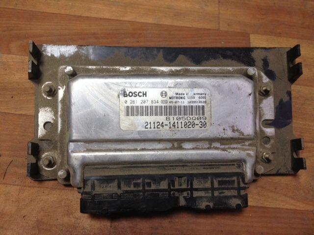 Фото №2 - блок управления двигателем ВАЗ 2110