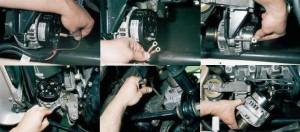 Фото №10 - замена генератора ВАЗ 2110