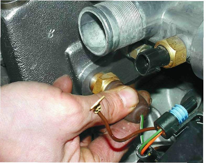 Фото №3 - датчик температуры охлаждающей жидкости ВАЗ 2110