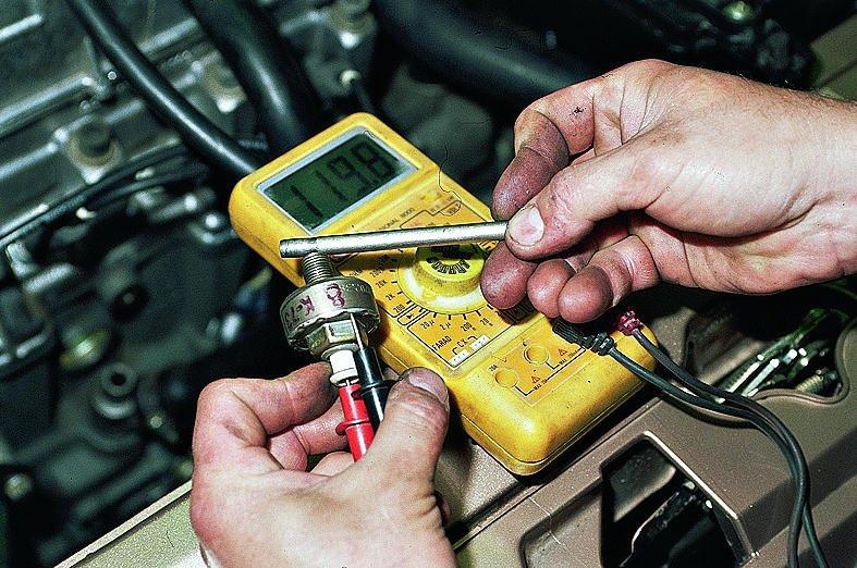Фото №33 - датчик детонации ВАЗ 2110 8 клапанов проверка