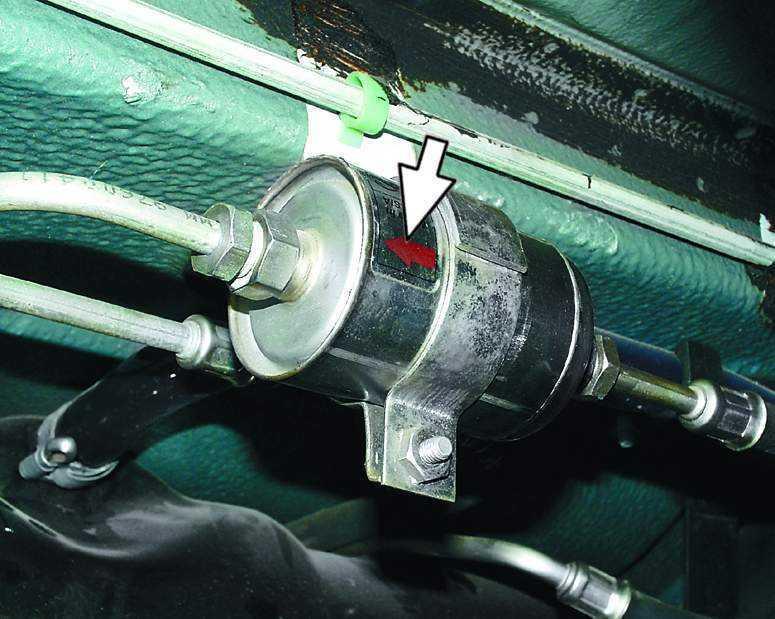 Фото №28 - замена топливного фильтра ВАЗ 2110