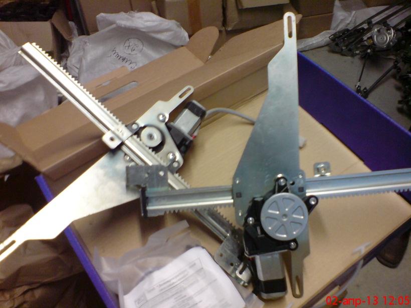 Фото №6 - как установить реечные стеклоподъемники на ВАЗ 2110