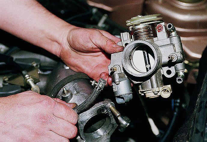 Фото №19 - дроссельный узел ВАЗ 2110 8 клапанов